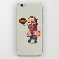 die hard iPhone & iPod Skins featuring John McClane - Die Hard by Robin Gundersen