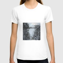 Snowy Heart T-shirt