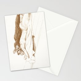 Sarah the landscaper Stationery Cards
