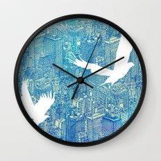 Ecotone (day) Wall Clock