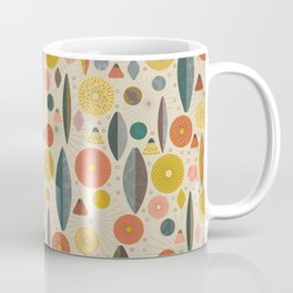 Mid Century Modern Eucalyptus with Retro Vibes Coffee Mug