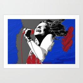 Janis Art Print