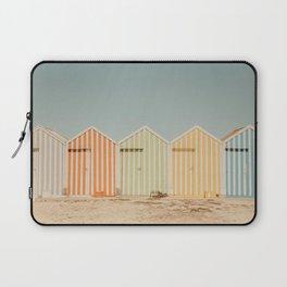 Summer Beach Huts Laptop Sleeve