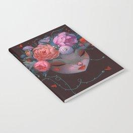 Crown of Peonies Notebook