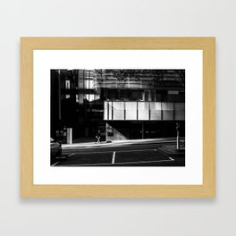 Urban Ascension (Lonsdale Street, 2013) Framed Art Print