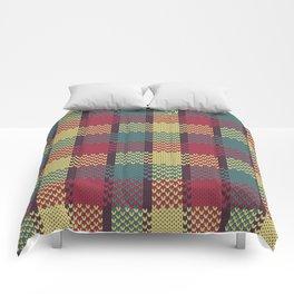Faux Retro Gingham Comforters