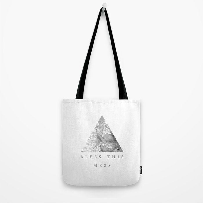 Bless this mess Tote Bag