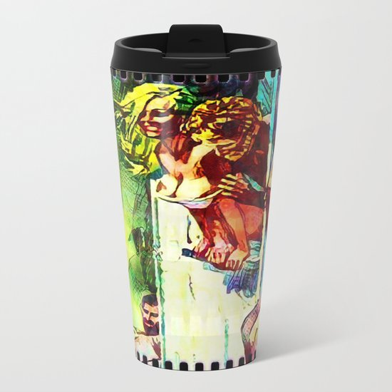 Film Strip Metal Travel Mug