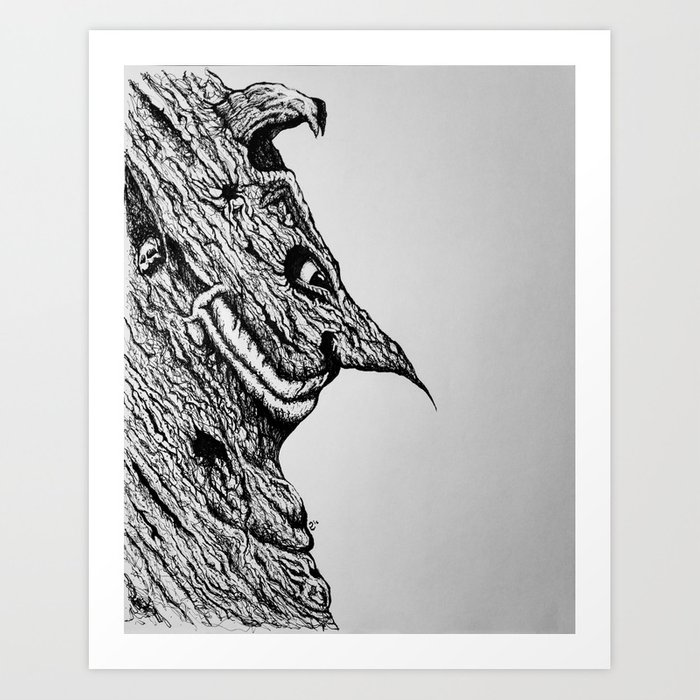 """""""Tell Me What You See?"""" Art Print"""