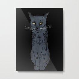 Jack the Cat Metal Print
