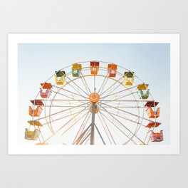 Summertime Fun Art Print
