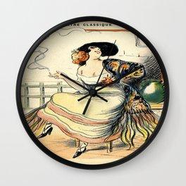 Vintage poster - Carmen Wall Clock