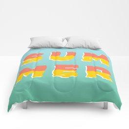 MELTING SUMMER Comforters