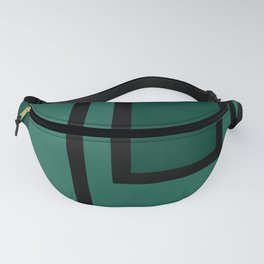 WAY OF HOPE- the green Path / Bauhaus Design/Style Fanny Pack