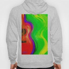 Colorful Guitar Hoody