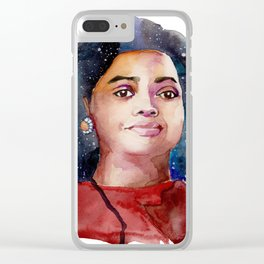 Dorothy Vaughn Clear iPhone Case