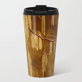 Hazel catkins Travel Mug