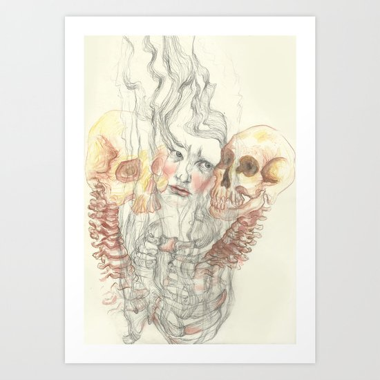 Up in Smoke Art Print