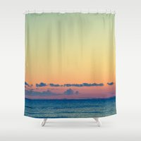 grafitti Shower Curtains featuring Soothe The Burn  by Faded  Photos