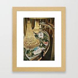 Lavish Lookout  Framed Art Print