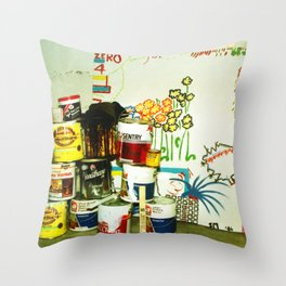 painting 1986 Throw Pillow