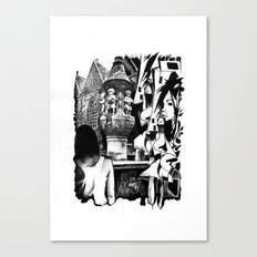 Fontain Canvas Print
