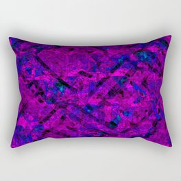 Vitrage (Purple) Rectangular Pillow