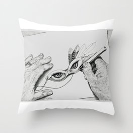 Tory's Eyes Throw Pillow