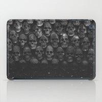 skulls iPad Cases featuring SKULLS by Danielle Fedorshik
