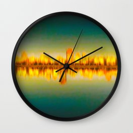 To Be Urban Abstract Wall Clock