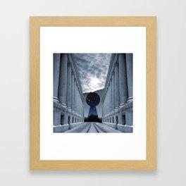 Keyhole to Infinity Framed Art Print