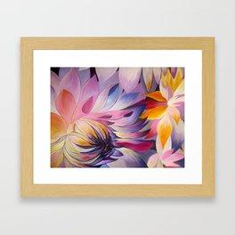 """Purple Dahlia"" Framed Art Print"
