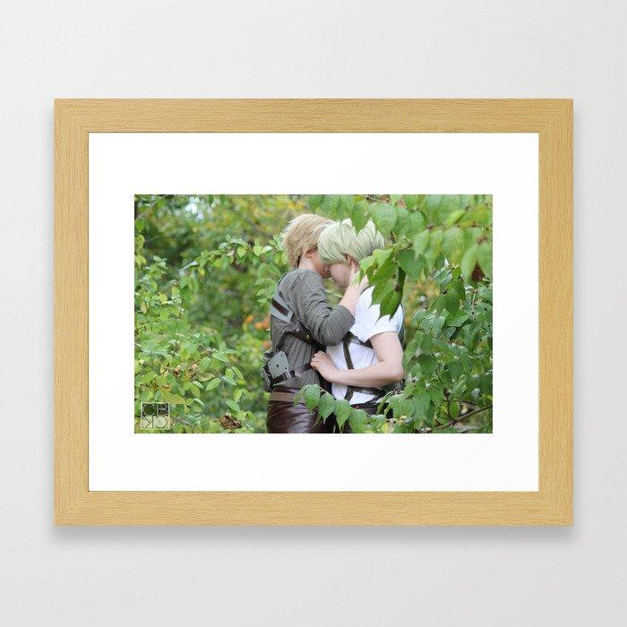 20150926 Mike X Nanaba, Serenity Framed Art Print