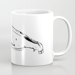Watchful Skull Coffee Mug