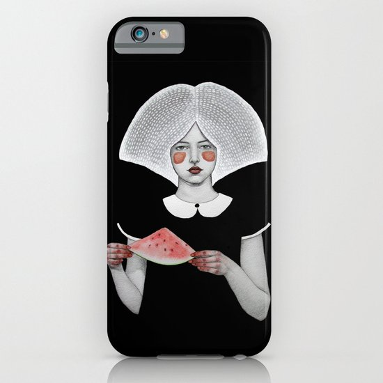 Zora in Black iPhone & iPod Case