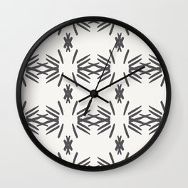 Aztec tile Wall Clock