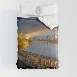 Graffiti bridge Comforters