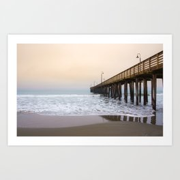 Cayucos California Coast Art Print
