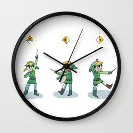 the wind's requiem Wall Clock