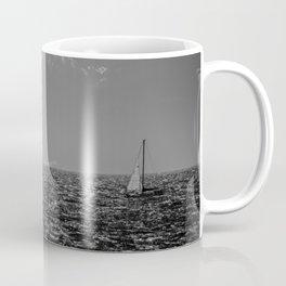 Stormy Seas - Rough water near Victoria, BC Coffee Mug