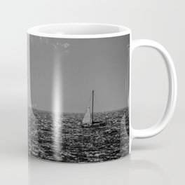 Stormy Seas - Rough water near Victoria, BC Coffee Mug
