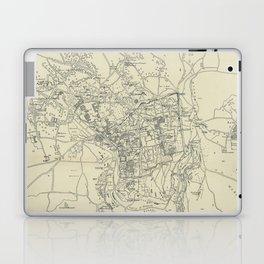 Vintage Map of Jerusalem Israel (1917) Laptop & iPad Skin