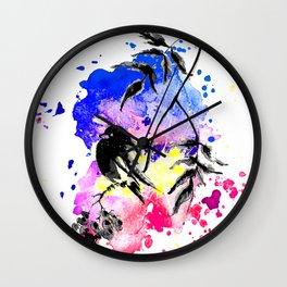 Free Bird Wall Clock