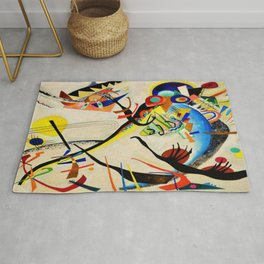 The Bird by Wassily Kandinsky Rug