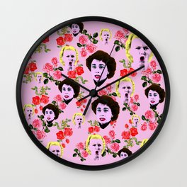Mommie Dearest 'I Am Not One of Your FANS!' Wall Clock
