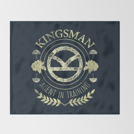Agent In Training (Yellow) Throw Blanket
