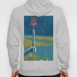 Seaview Fire Beacon in Turquoise Hoody