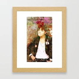 Cheeky Thoughts of You Framed Art Print