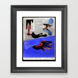 Hand Cream Framed Art Print