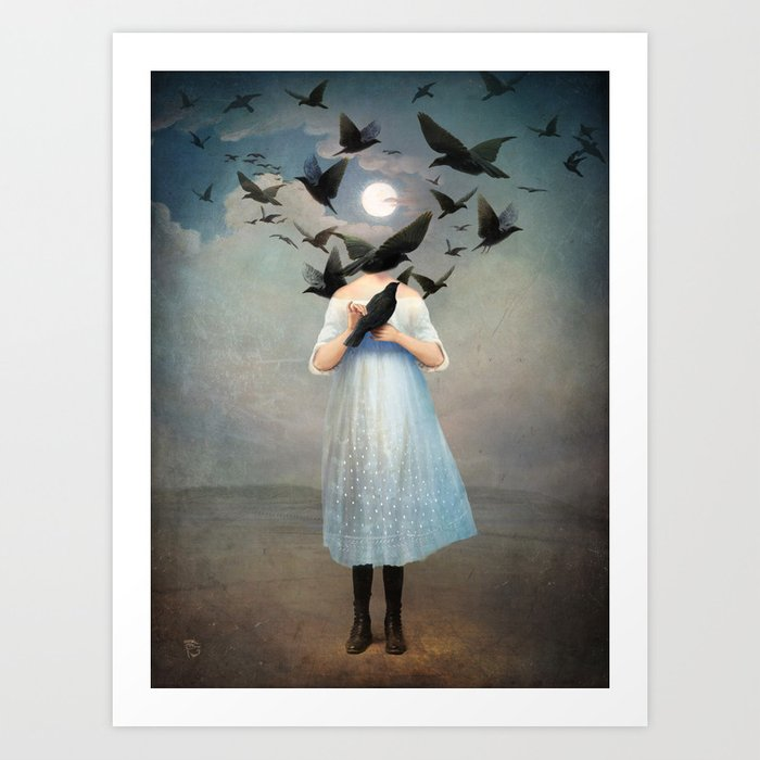 Discover the motif MOONLIGHT by Christian Schloe as a print at TOPPOSTER